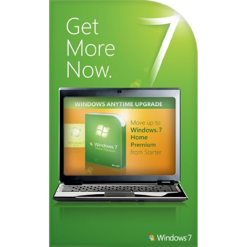 Windows 7 Home Basic to Home Premium Anytime Upgrade Product Key
