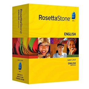 Rosetta Stone English (American) Level 1, 2, 3 Set Product Key