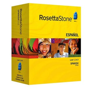 Rosetta Stone Spanish (Spain) Level 1, 2, 3 Set Product Key
