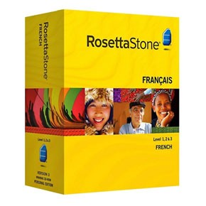 Rosetta Stone French Level 1, 2, 3 Set Product Key