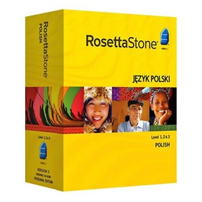 Rosetta Stone Polish Level 1, 2, 3 Set Product Key